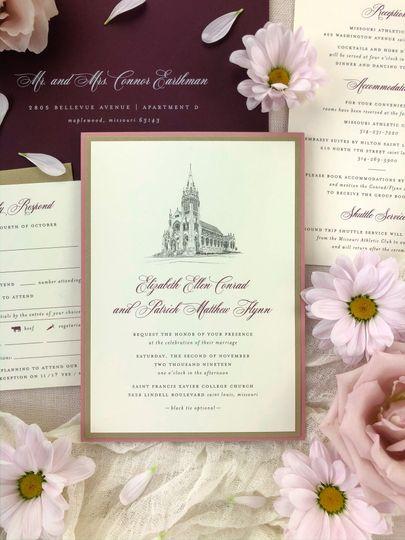 Ceremony Venue Illustration