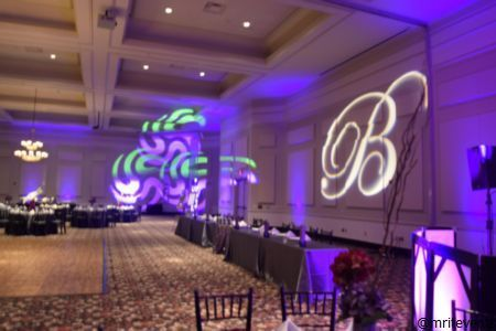 Gobo and moving lights