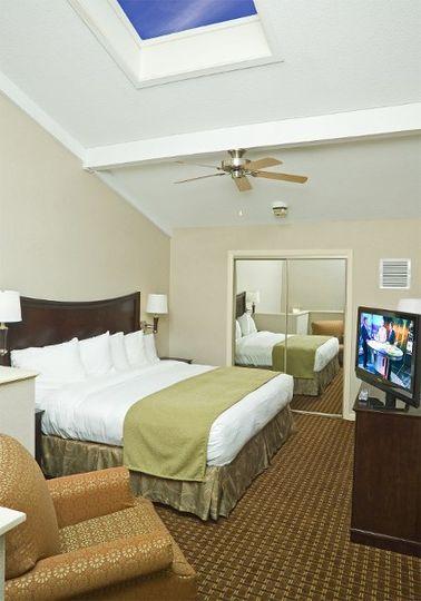 Two Room Suite (Bedroom)