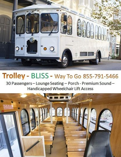 trolley service chicago way to go limousine 855