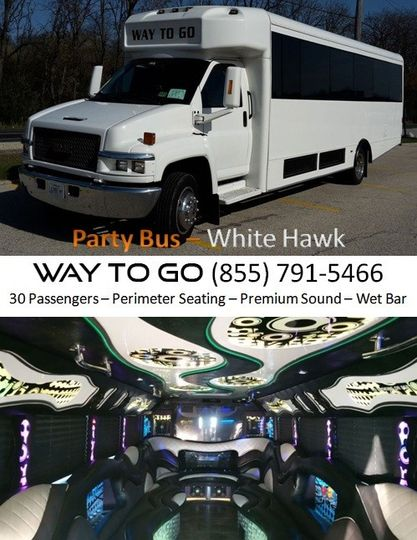 party bus rentals chicago il way to go limousine