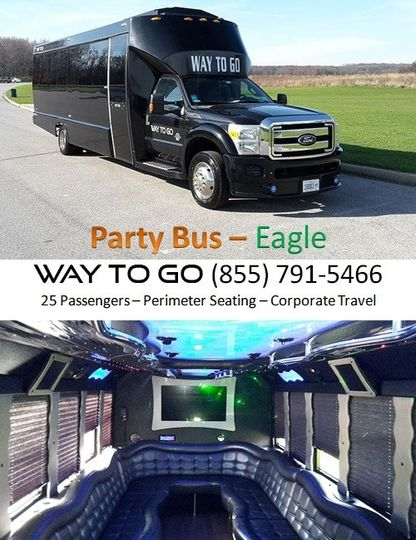 party bus rental chicago il way to go limousine