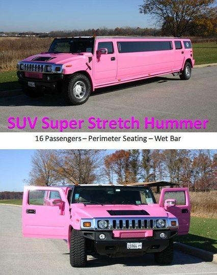 limousine rental chicago pink hummer limo way