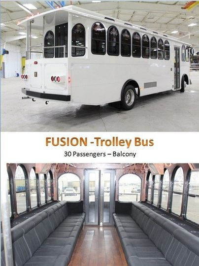 pass trolley bus way to go limousine 855 791