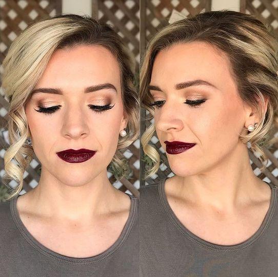 Bold lip
