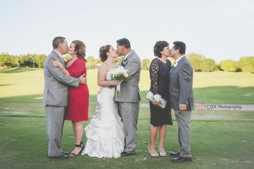 kissing in laws and parents