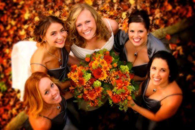 Ladies with flowers