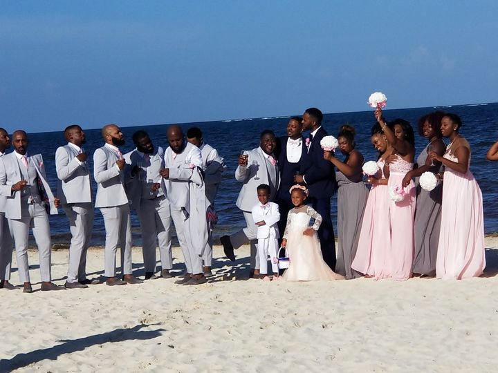 Wedding on the beach of Mexico