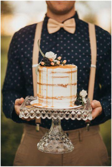 Fleur Bakery Wedding Cake
