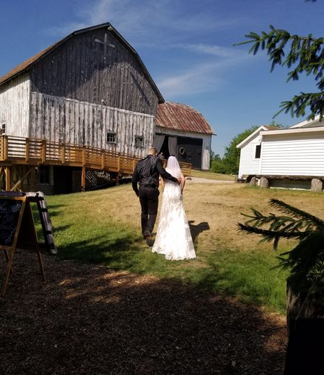 Leave Outside Ceremony