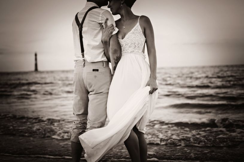 "Say ""I Do"" with your toes in the sand."