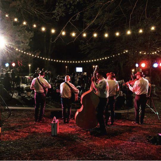 Band for rehearsal dinner
