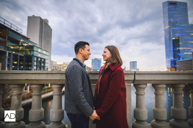 30th street station engagement photography anton d