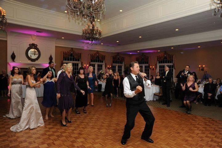 Rocking a country club wedding in Lakewood, NJ.  Nov. 2012