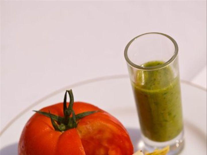 Tmx 1316192158820 Tomatoshotglassplate Gwynn Oak wedding catering