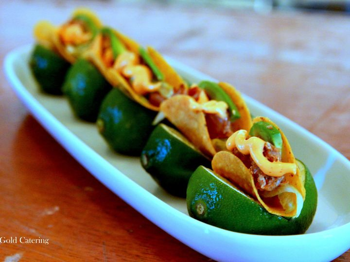 Tmx 1367870533570 Miniature Fish Taco Gwynn Oak wedding catering