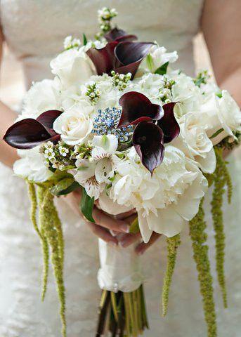 luren turners brides bouquet