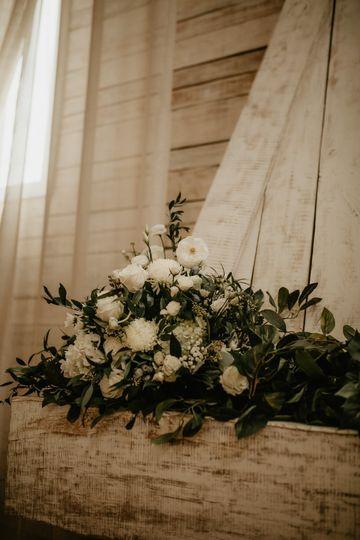 Wedding Reception Mantle