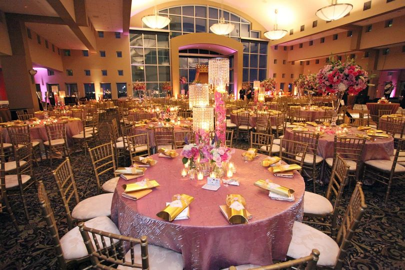 Elegant table and chairs arrangement