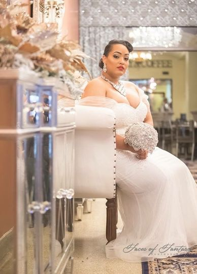 Beautiful bride - Faces of Fantasy Photography