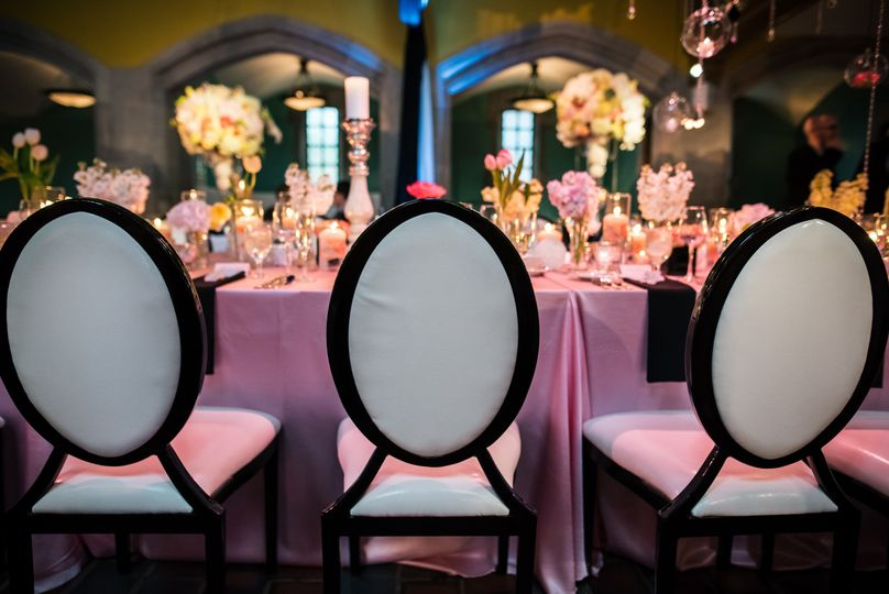 Our Chateau Dining Chairs are another beautiful option for a unique accent!