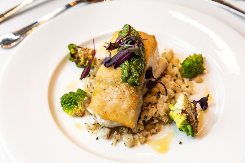 Harissa Crusted Halibut