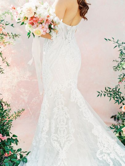 Intricate lace details
