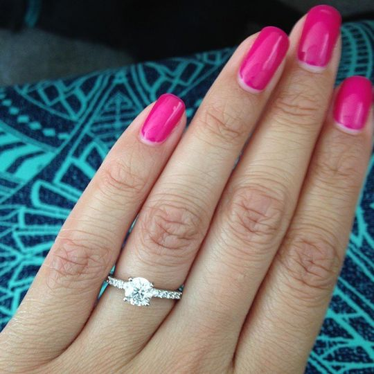 jasmine gonzalez engagement ring