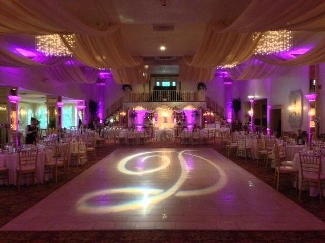 mallozzi ballroom monogram floor