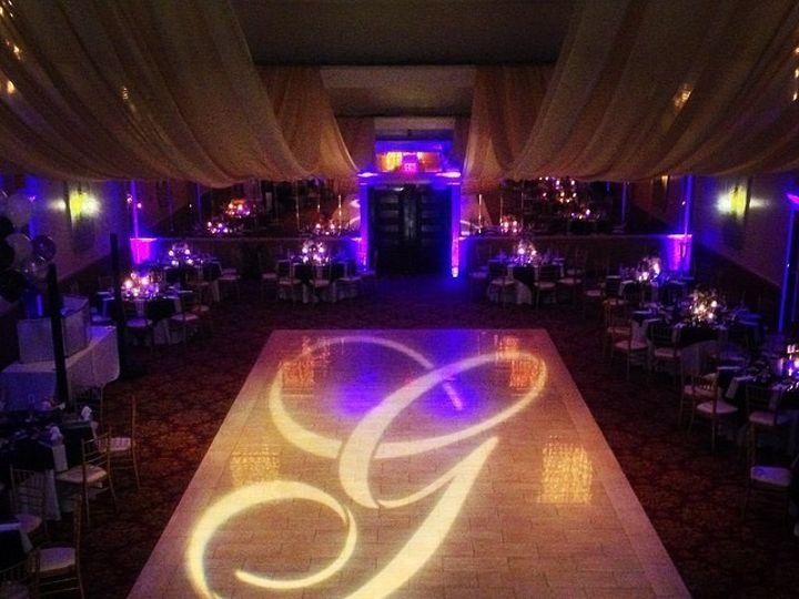 Tmx 1436139359013 Mallozzi Ballroom Monogram Floor 2 Schenectady, NY wedding catering