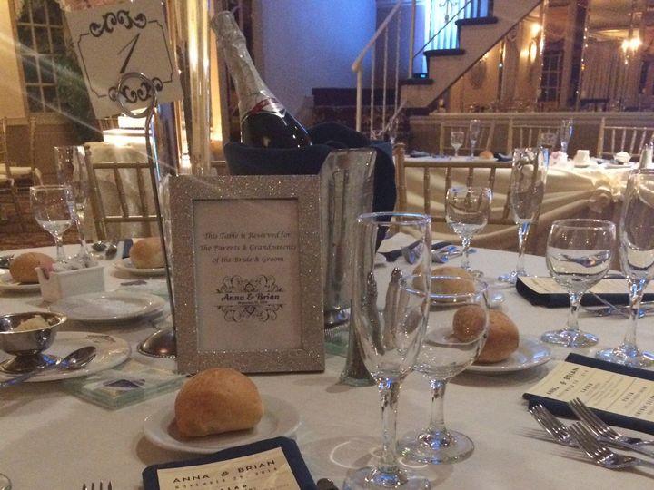 Tmx 1436139369179 Mallozzi Ballroom Table Setting Schenectady, NY wedding catering