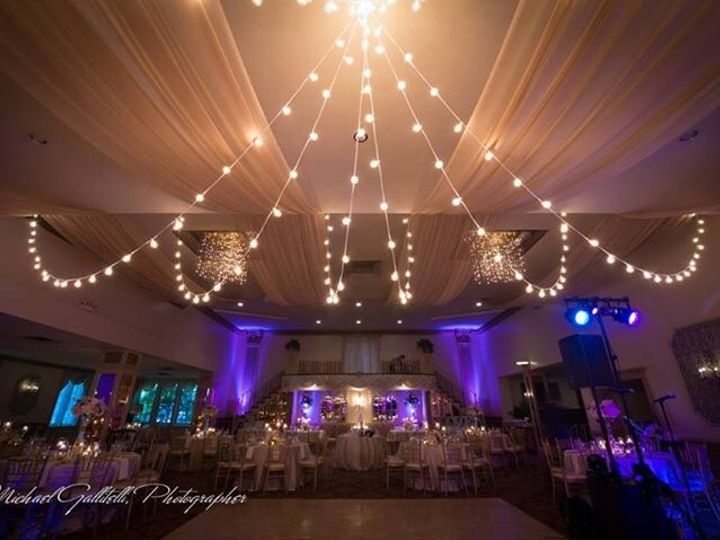 Tmx 1436139377869 Mallozzi Ballroom With Lights Schenectady, NY wedding catering