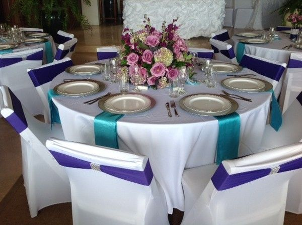 Villa Wedding Reception set up