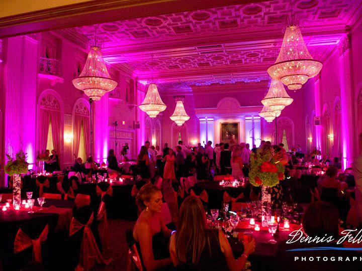 Tmx 1384807146189 Hot Pink Up Lighting.. Milwaukee, Wisconsin wedding dj