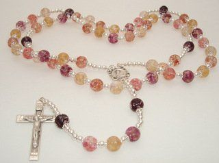 Rosary made from your wedding flowers