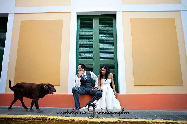Old San Juan, PR Wedding