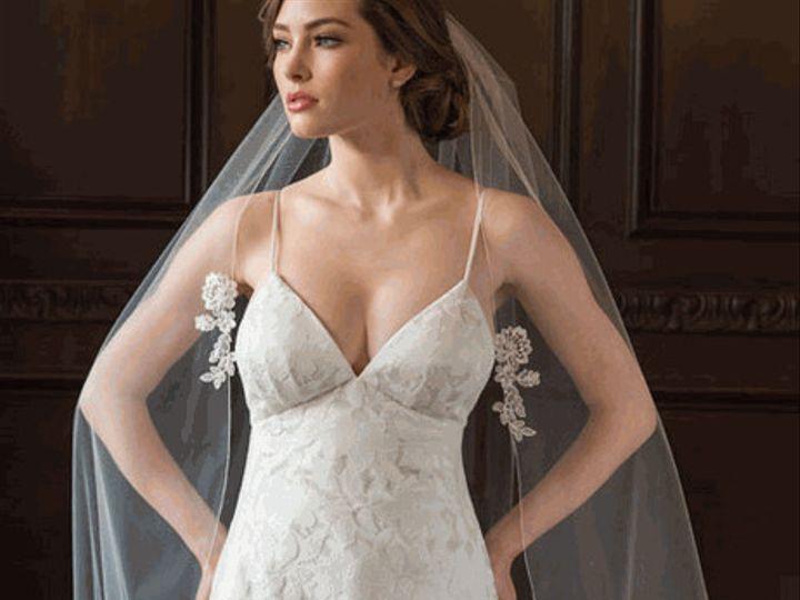 Tmx 1510766618375 Bel Aire Bridal Veil V7355 4 Wesley Chapel wedding dress