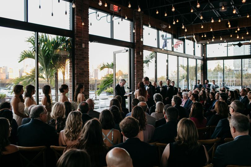 Intimate Waterfront Ceremony