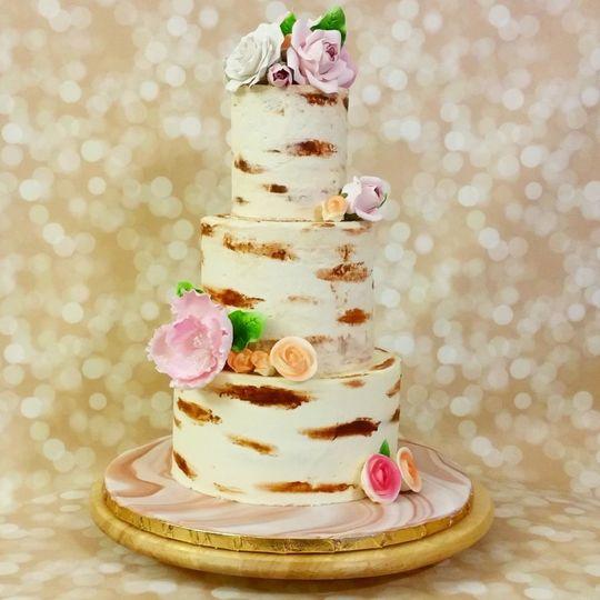 Rose Hill Cakes - Wedding Cake - Sanford, FL - WeddingWire