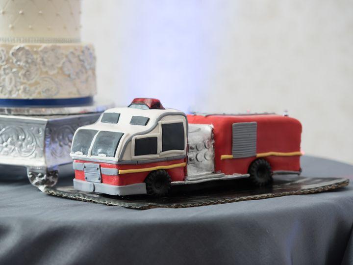 Tmx 1486263849107 Lake Mary Events Center Wedding   Jamie Reinhart P Sanford wedding cake