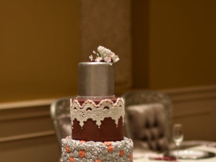 Tmx 1509028572708 Dsc0155 683x1024 Sanford wedding cake