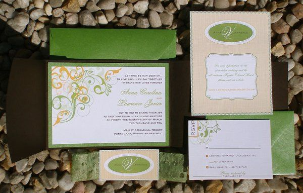 Tmx 1282667398281 MeadowTangerine3 Concord wedding invitation