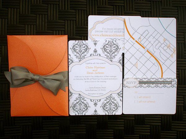 Tmx 1282667405156 ModernDamask2 Concord wedding invitation
