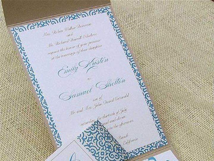 Tmx 1315492249261 SomethingBlue2 Concord wedding invitation