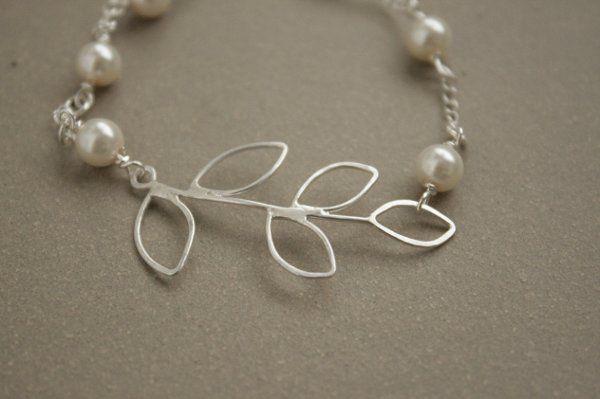 Tmx 1285441625759 Braceletsterlingbrancheswithpearls07 Kansas City wedding jewelry