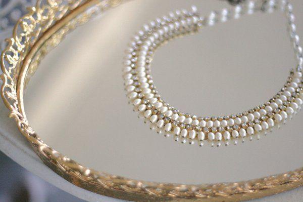 Tmx 1285441726055 Necklacevintagecollarpearlandcrystalingold01 Kansas City wedding jewelry