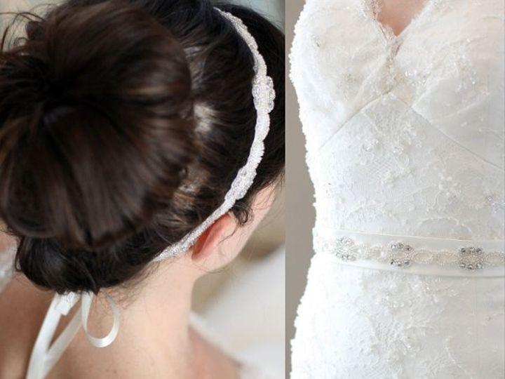 Tmx 1327274577819 Headband.BeltCrystalEternityKnotsStyle02136 Kansas City wedding jewelry