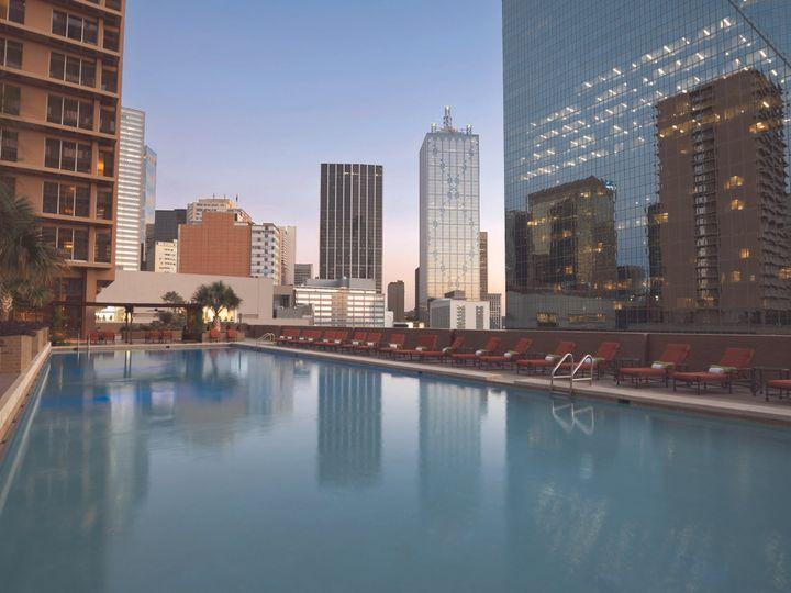 Tmx 1467914753363 Pool Dusk   900017 Dallas, TX wedding venue