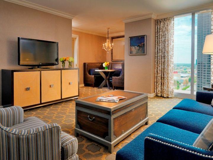 Tmx 1467915398528 Dal   King Suite Living Room   New Compressed Dallas, TX wedding venue
