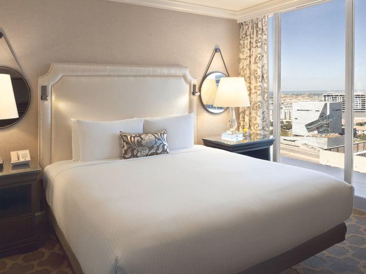 Tmx 1467915462054 Fairmont Suite Bedroom Dallas, TX wedding venue